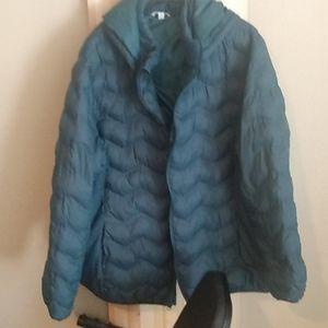 Teal puffy coat 3xl